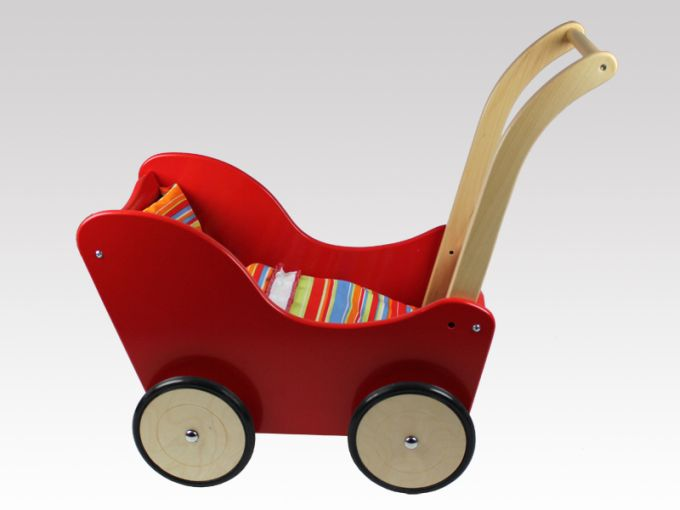 Pinolino Puppenwagen Holz Sarah Buche Natur ~ Details Zu Puppenwagen Holz Holzpuppe Nwagen Larix Toys Mit Pictures
