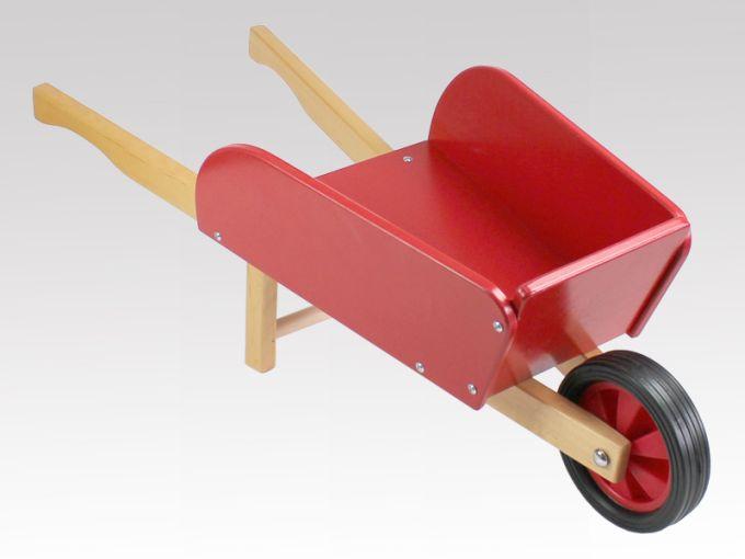 kinderchubkarre rot aus holz von larix toys ebay. Black Bedroom Furniture Sets. Home Design Ideas